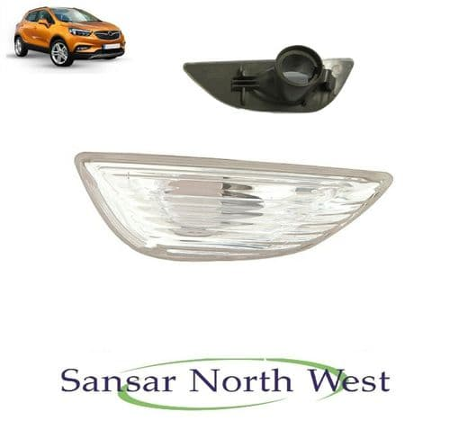 Vauxhall Mokka X Drivers Side Wing Indicator Flasher Lamp Light Clear O/S RIGHT